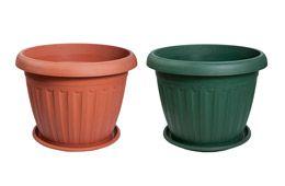 Elba plastic pots
