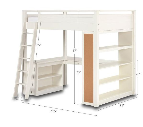 Dimensions to the loft I am looking at. Perfect!
