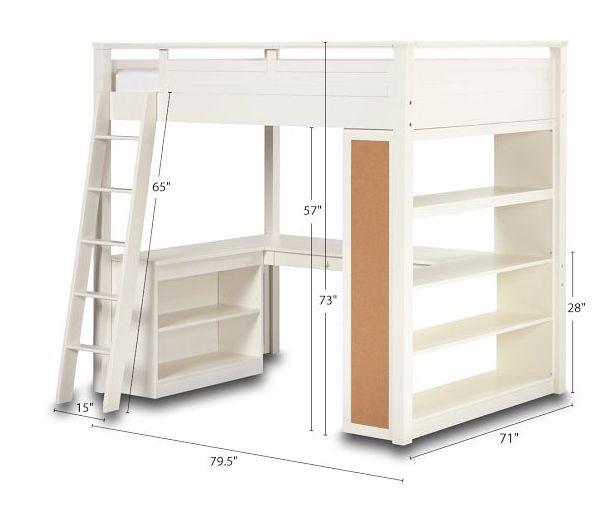 Small loft bed