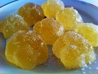 Pillole di dolcezze: Caramelle gelèe al limone