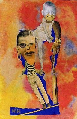 balance, 1925, hannah hoch