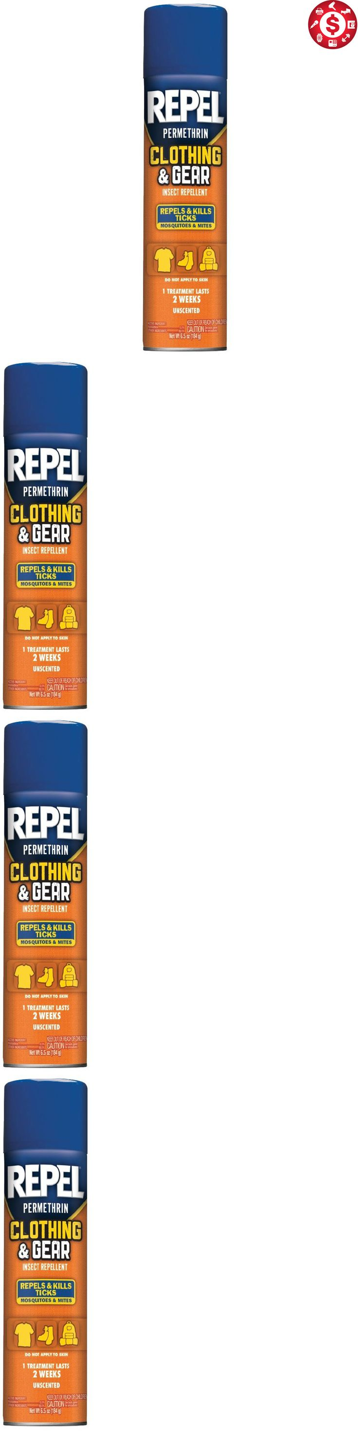 Insect Nets and Repellents 65965: 6.5 Ounce Repel Permethrin Clothing And Gear Spray Insect Repellent Aerosol New -> BUY IT NOW ONLY: $37.87 on eBay!