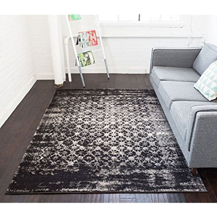 5 X 7 Cheshire Grey Moroccan Lattice Soft Plush Modern Casual Area Rug Living Room