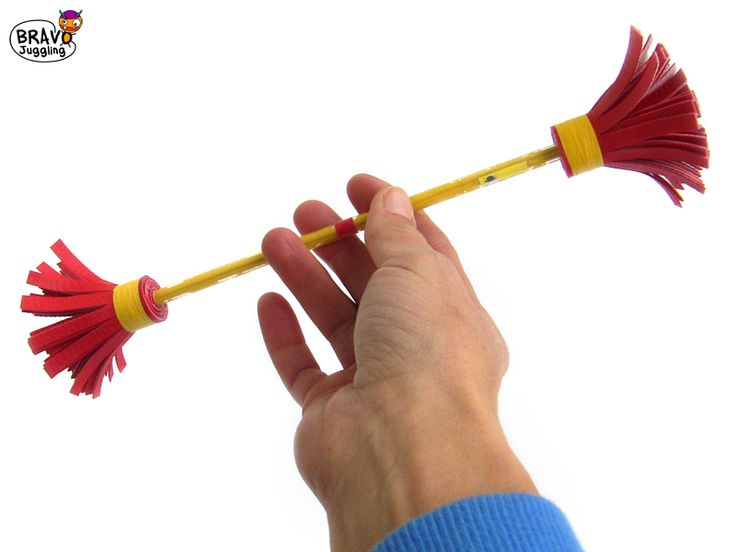 Bravo FingerStick - mini devilstick - from Bravo Juggling order: bravojuggling@gmail.com