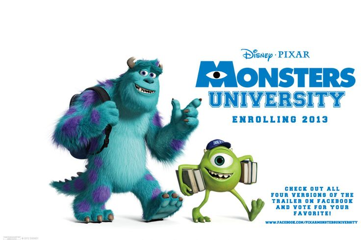 Monsters University  After the double disappointment of Cars 2 and Brave, Pixar will look to bounce back with the sequel to the much cherished Monsters Inc.  #disney #montersuniversity
