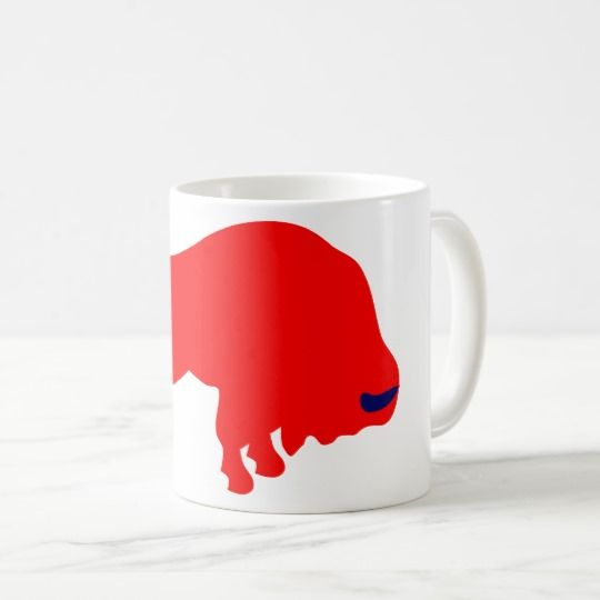 #zazzle #Red #Bull #White #Coffee #Mug#office #home #travel #gift #giftidea