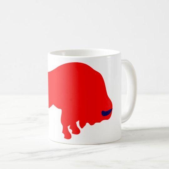 #zazzle #Red #Bull #White #Coffee #Mug#office #home #travel #gift #giftidea