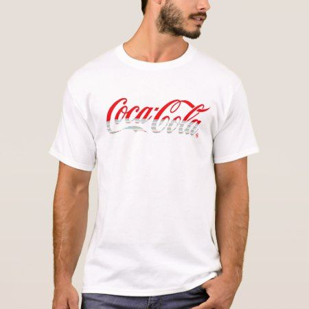 Coca-Cola Logo T-Shirt - tap, personalize, buy right now!