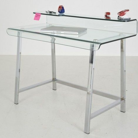 KARE Prague - Office Table Visible Clear