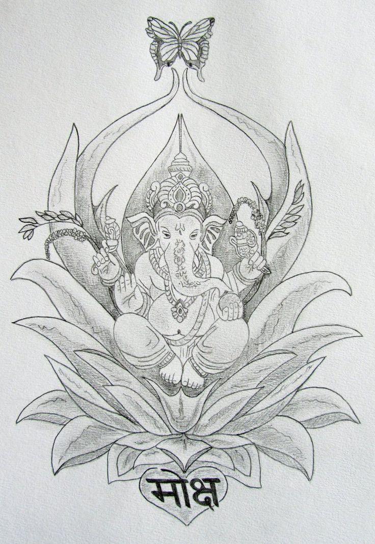 11 ganesha tattoo designs ideas and samples - Heart Chakra Sacred Tattoo Designs And Spiritual Skin Sequel