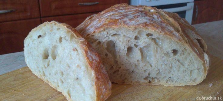 Fotorecept: Domáci chlieb BEZ miesenia