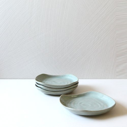 Casual line wormwood Rectanguler Plate 14, set of 4 / $54.00