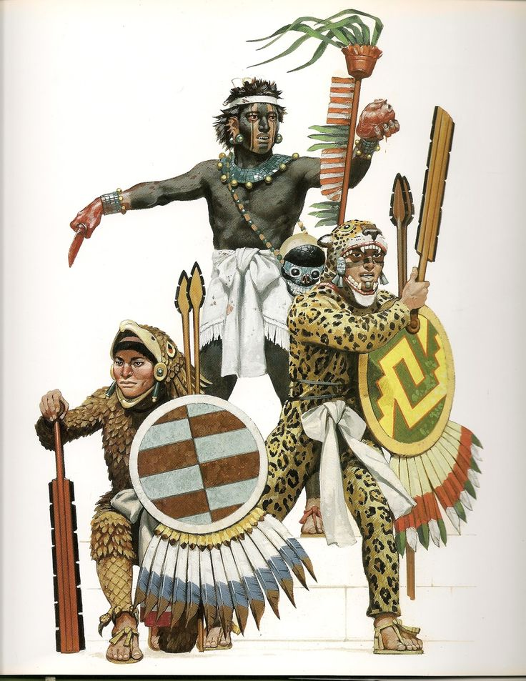 The Aztec Imperial Warriors
