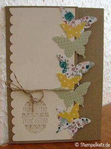 Gesammelte Osterkarten (Frühlingskarten) - Stempelkatz