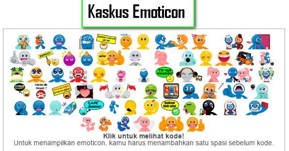 Memasang Emoticon Kaskus di komentar blog ~ Berbagi Tips Blogger