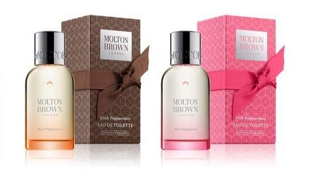 MOLTON BROWN  「Black Peppercorn」&「Pink Pepperpod」