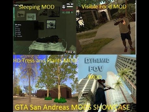 GTA San Andreas MODS Showcase Part 1!!! (With Links)!!