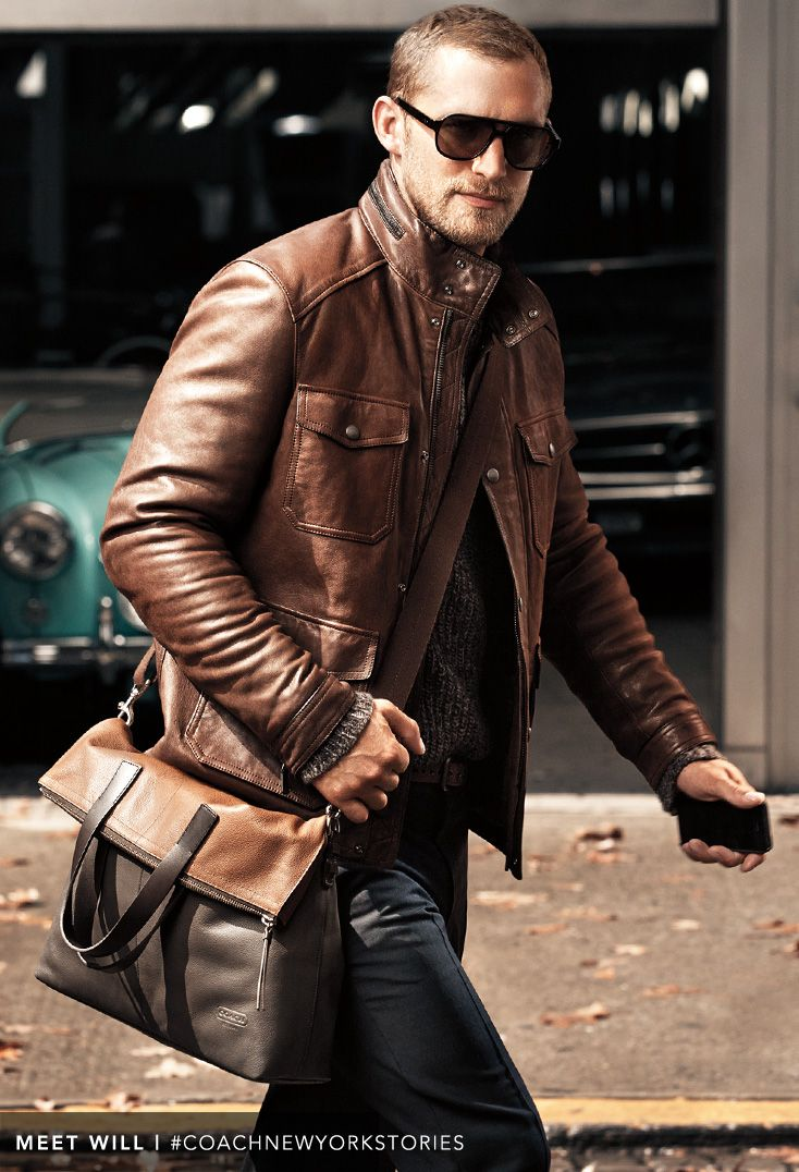 Leather jacket styles for men
