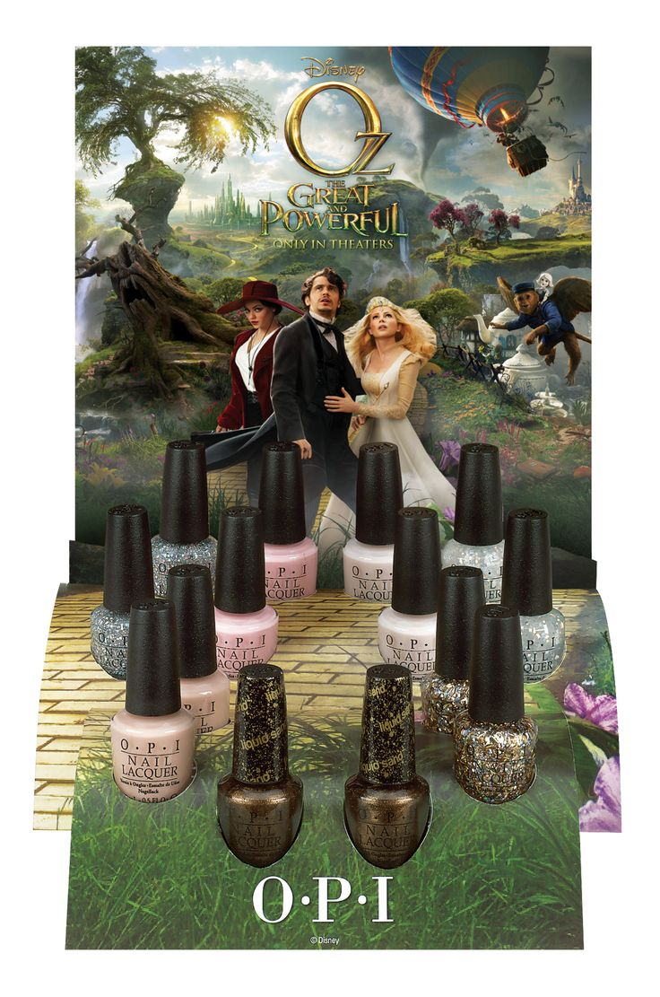 OPI's Oz Nail Polish Collection Giveaway Canada Only 4/15