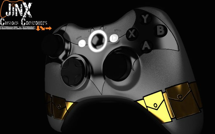 Batman Custom Xbox Controller Wallpaper Wallpapers Uk Backgrounds For All Your Devices