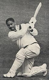 Frank Worrell (West Indies) ….. Tests span: 1948-1963,  Matches 51,  Highest Score 261,  Runs 3,860,  Average 49.48,  9 Hundreds,  22 Fifties; ….. First-class span: 1941-1964,  Matches 208,  Highest Score 308*,  Runs 15,025,  Average 54.24,  39 Hundreds,  80 Fifties.