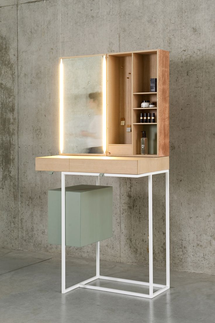 15 best garderobe deuren images on pinterest doors architecture tabeau dressing table by belgian designer nicole brock is a beautiful minimalist piece designed for easy reconfiguration via the use of hidden magnets vtopaller Image collections