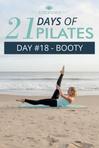 21 Days of Pilates // Day 18 – Booty