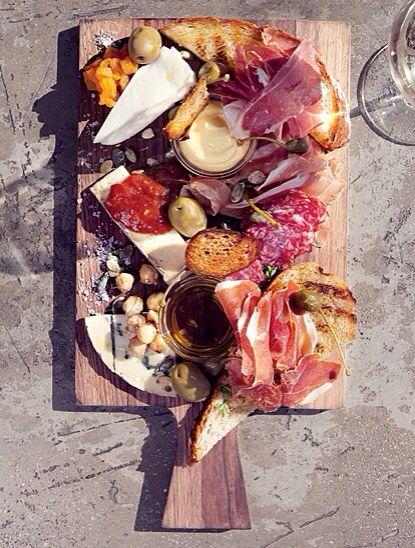 Antipasti sharing platter- available on the main menu
