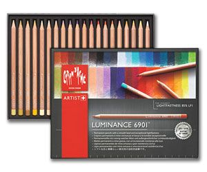 Caran D'Ache Luminance 6901 Artists' Pencil Boxes