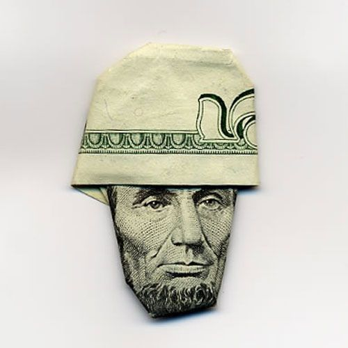 GIFT IDEAS- Cool ways to fold money for gifts. Ha!