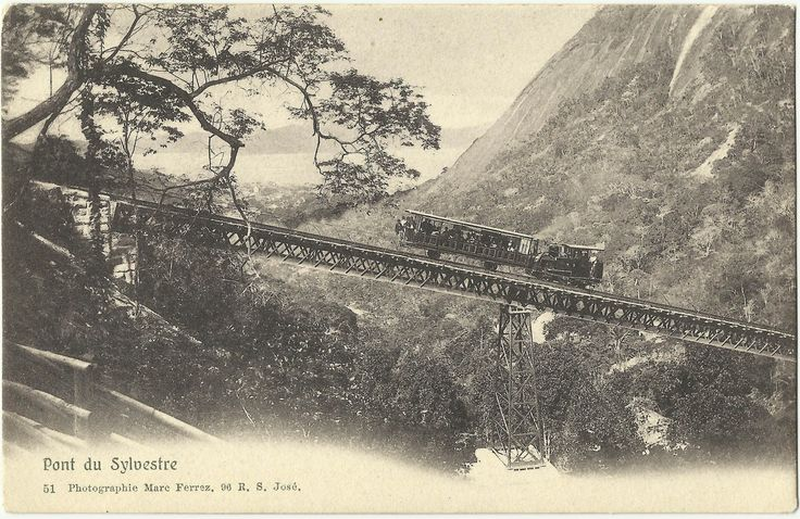 Postado por Marcela em Marc Ferrez, Rio de Janeiro e marcado com Corcovado, Marc Ferrez, Ponte do Silvestre, Rio de Janeiro, Trem