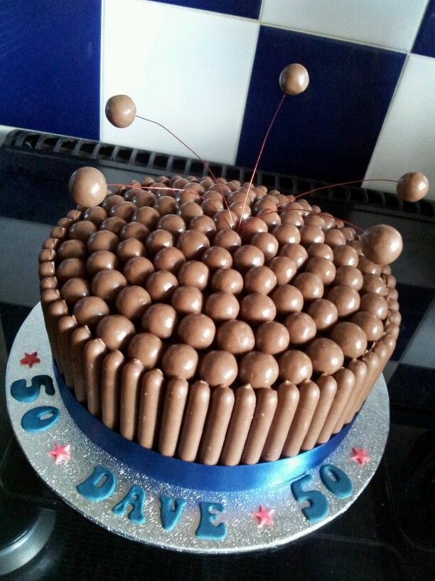 Another Maltesers and Cadbury Chocolate Finger Cake :)