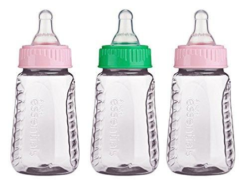 3 Pack - Gerber First Essentials Clear View Bottles, 5oz  Soft and Comfortable Baby & Toddler Clothing!