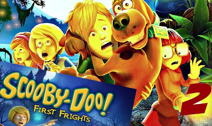 Scooby Doo! First Frights Gameplay Walkthrough Part 2 PlayStation 2 (Wii...