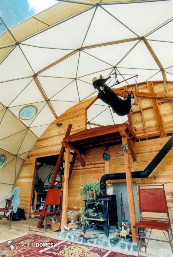 Eco-living Dome Home with Skychair
