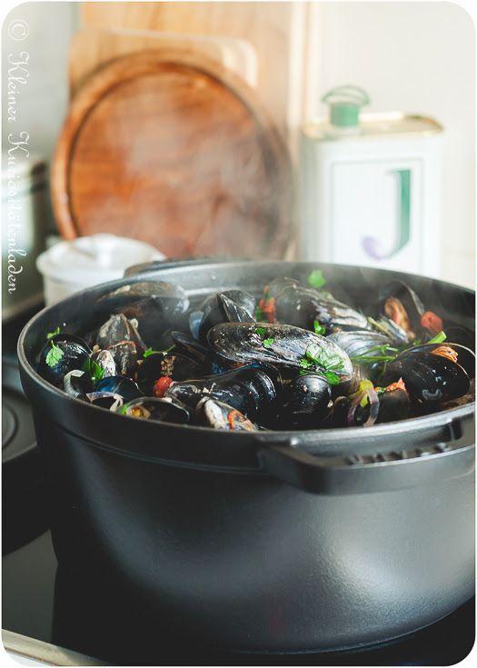 Miesmuscheln im Biersud Der Foodblog für kreative Küche und gelingsichere Rezepte