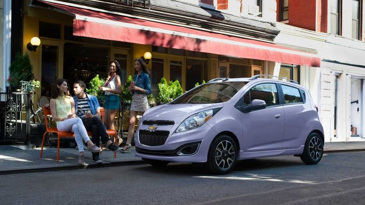 My new ride, 2014 Chevy Spark 2LT, Grape Ice...love it!!!!!