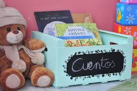 Resultado de imagen de cajas de fruta decoradas para bebe