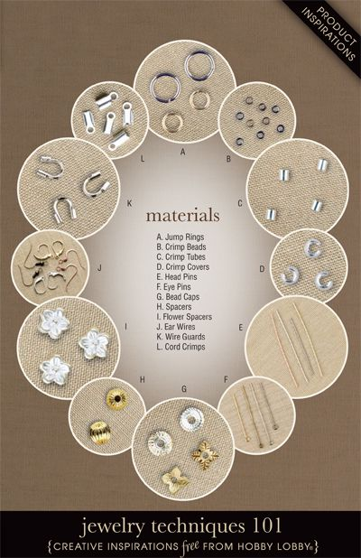 Learn the basics of jewelry making with this easy-to-follow illustrated guide.