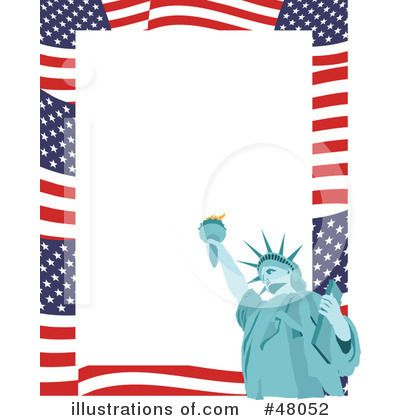 4th of july border clip art free