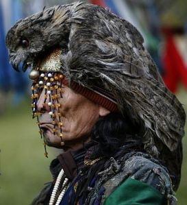 A modern-day Tuvan shaman