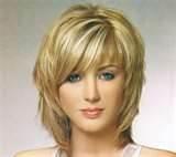 medium length hair cuts with bangs - Bing Images