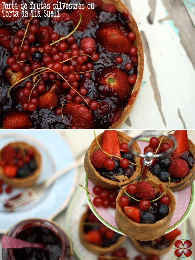 Tarte de frutas silvestres