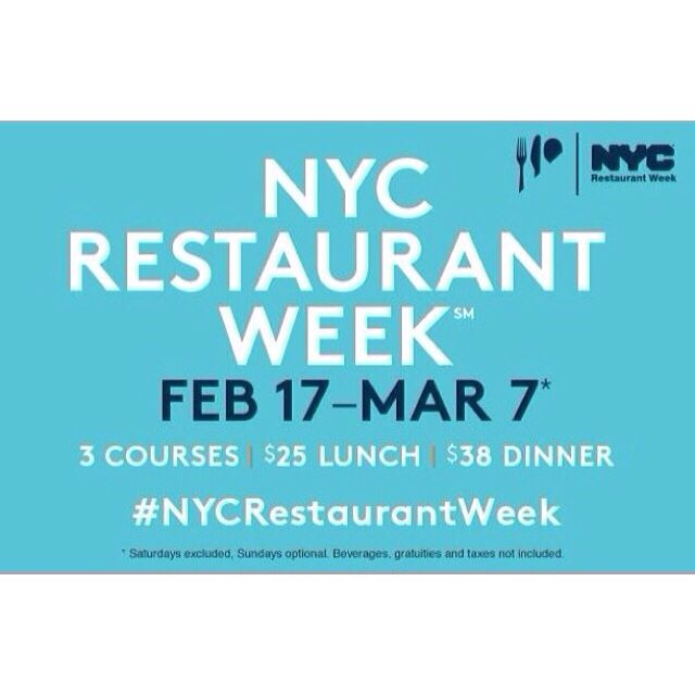 NYC Restaurant Week begins February 17. Restaurants are now taking reservations. Will you visit a restaurant during Restaurant Week? Make sure you upload your reviews to Chekplate and share your experiences with your friends!