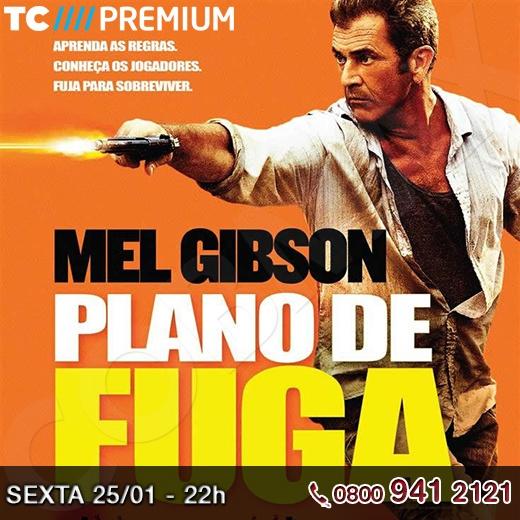 """Em """"Plano de Fuga"""" estreia de hoje no Telecine, Mel Gibson é um criminoso americano que acaba indo parar no México após uma tentativa de fuga de um assalto a banco, mas ele é preso no país. Para sobreviver na prisão, ele terá que aceitar a ajuda de um garoto de apenas 9 anos, com quem irá planejar sua fuga.     Vai assistir? Então compartilha e convida seus amigos para assistirem também!!!    http://www.clarotv.br.com/"""