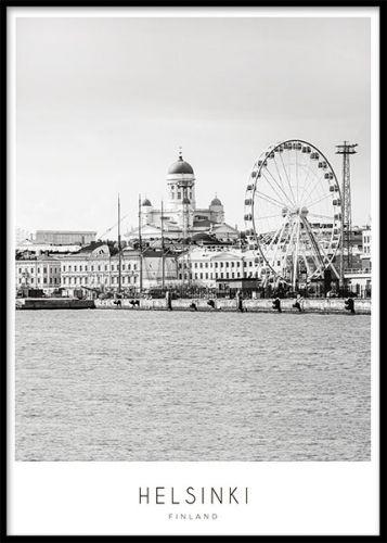 Helsinki, poster ryhmässä Julisteet ja printit / Kartat ja kaupungit @ Desenio AB (8119)