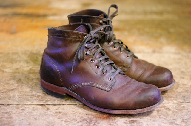 Wolverine 1000 Mile Lace-up boots - brown 6Div3VX