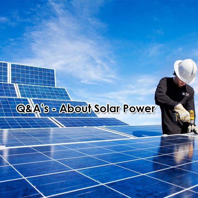 Most common Q&As about #SolarPower HERE!   #GoGreen #EnergyEfficient #KznSouthCoast #GottaLuvKZN