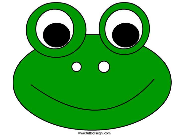 Pasos para elaborar una máscara de rana - Imagui ...