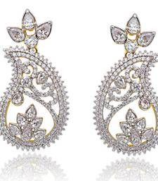 Buy Mango Shape Earrings danglers-drop online